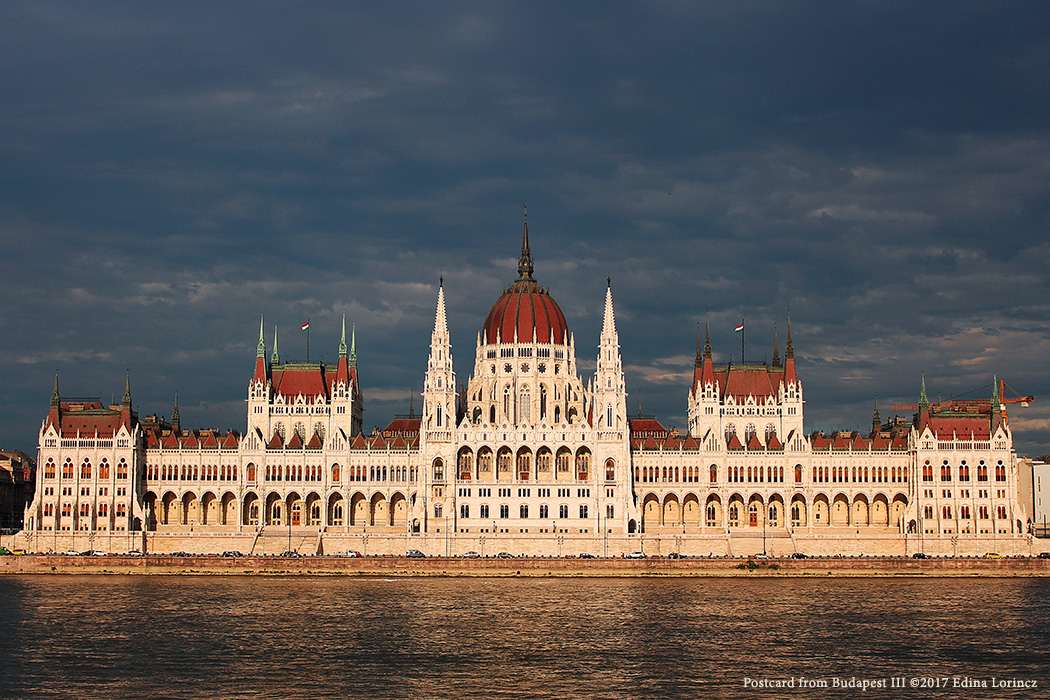 Postcard from Budapest III ©2017 Edina Lorincz